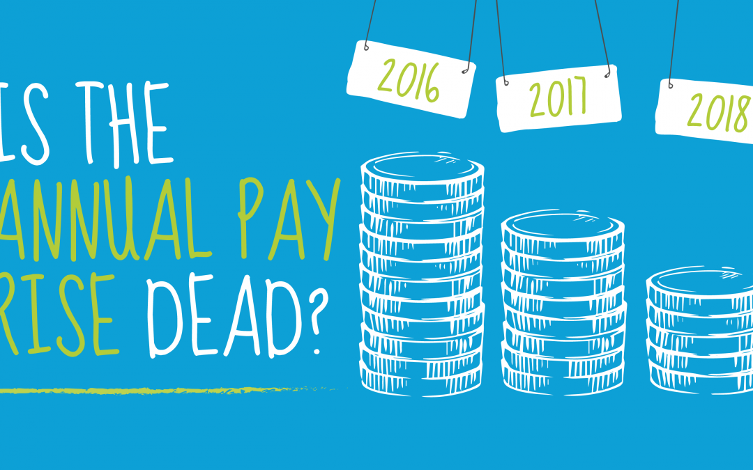 Is the annual payrise dead?