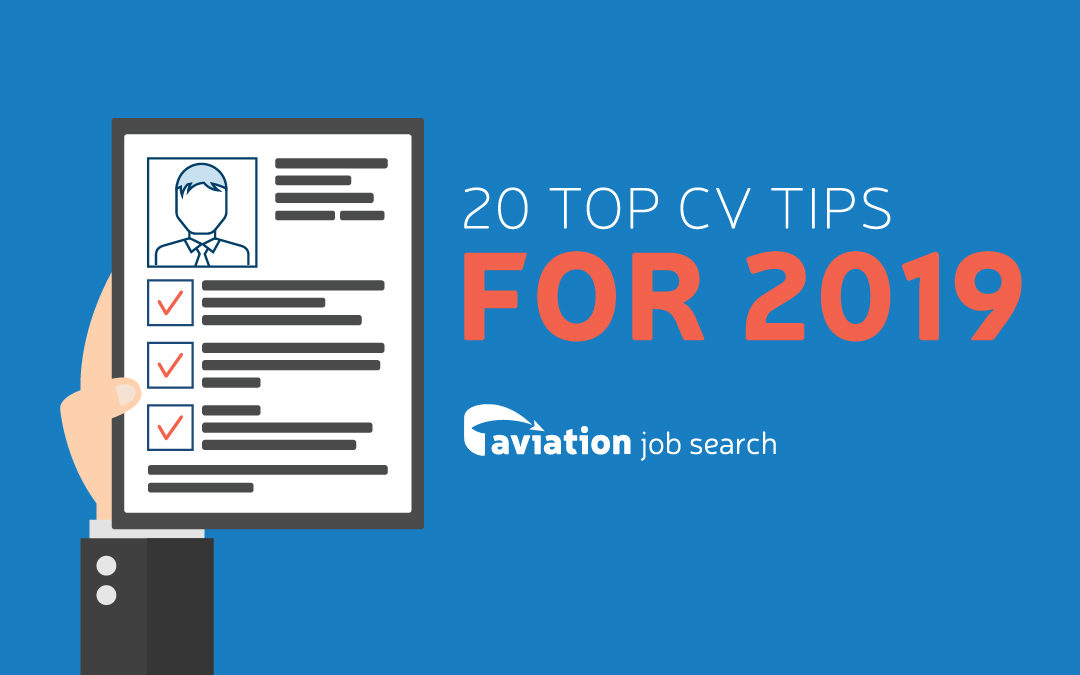 20 top tips for the perfect CV in 2019
